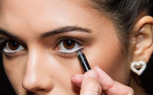 Miss Kim: Como Usar Lápis de Olho Branco