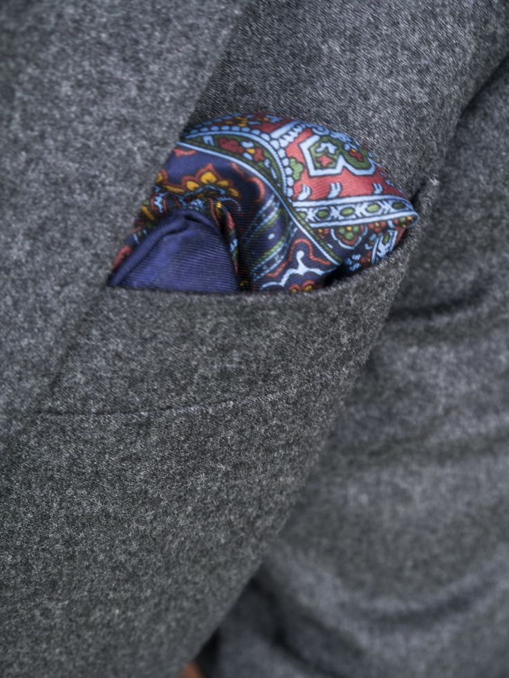 Mens Silk Pocket Square - wow by VIDA VIDA SoaKa2jVA3