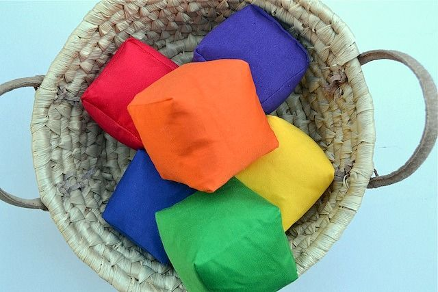 handmade soft blocks
