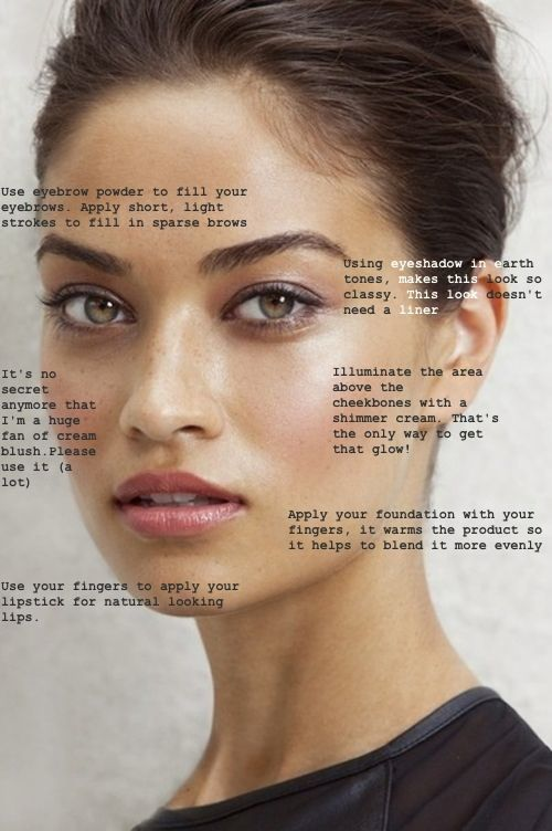 Basic beauty tips for the whole face.