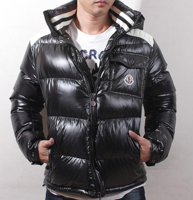 Hot Black Moncler Fashion Down Jacket for Men 208.99