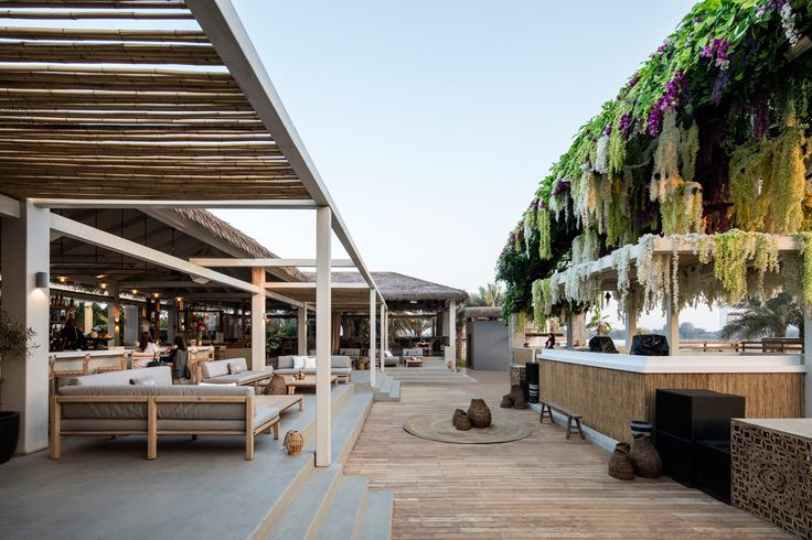 El Chiringuito Ibiza.Dubai Restaurant & Beach Club by ANARCHITECT.