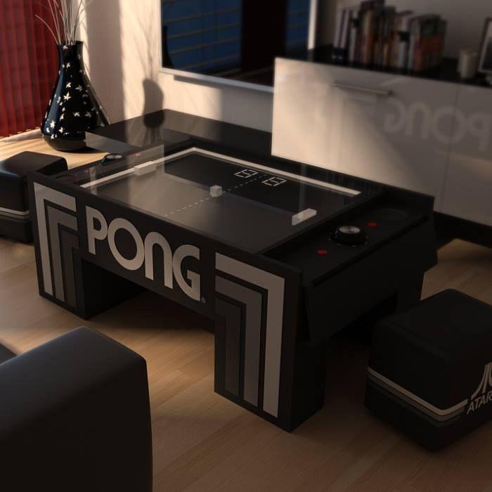 The Atari Pong Coffee Table Kid Room Decor Coffee Table Pong