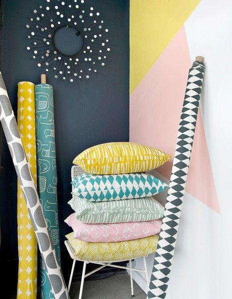 Skinny Laminx - Inspiration scandinave Après une carrière d'illustratrice, Heather Moore s'est lancée dans la création textile. Sa boutique propose...