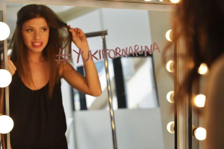 Chiara Nasti for #YukiFornarina project