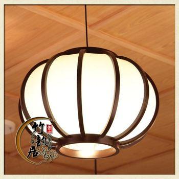 Moonlight Creative bedroom modern minimalist restaurant lighting fixtures Japanese bamboo chandelier chandelier Chinese single h