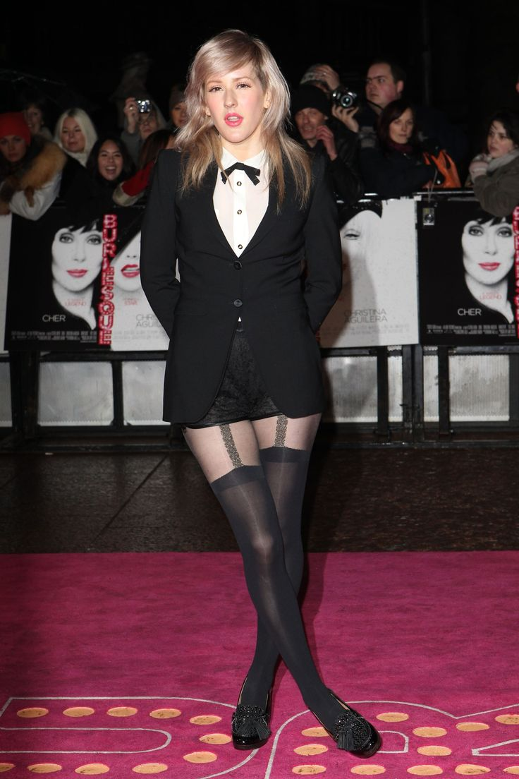 Ellie Goulding In Pantyhose Celebrities In Pantyhose