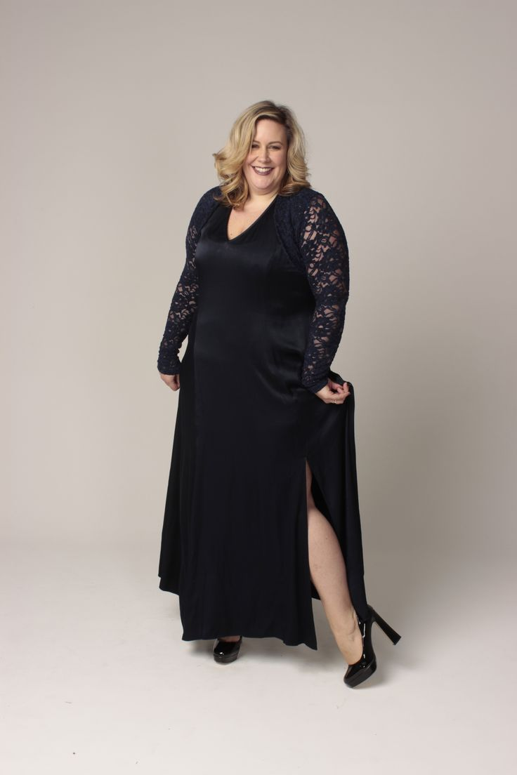 the carpenters daughter. plus size evening wear. desire dress and susan sleeves. new zealand made.