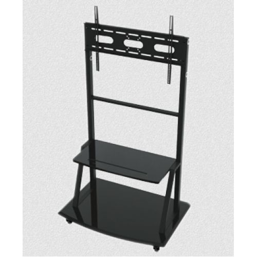 soporte para tv tipo stand con base para blueray ruedas