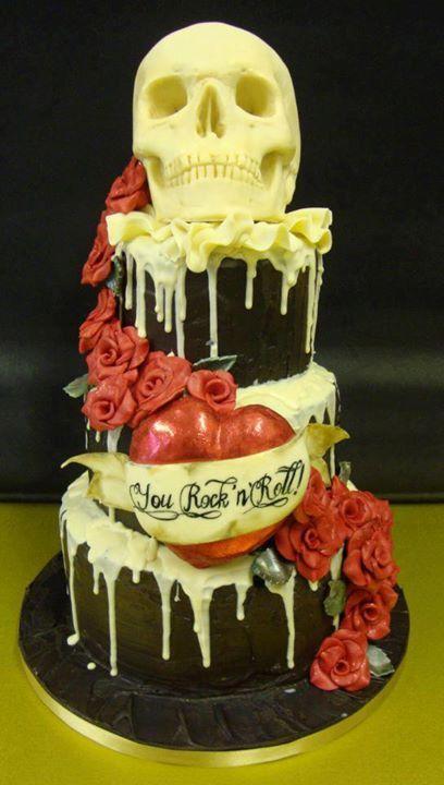 skull all cake ideas - photo #41