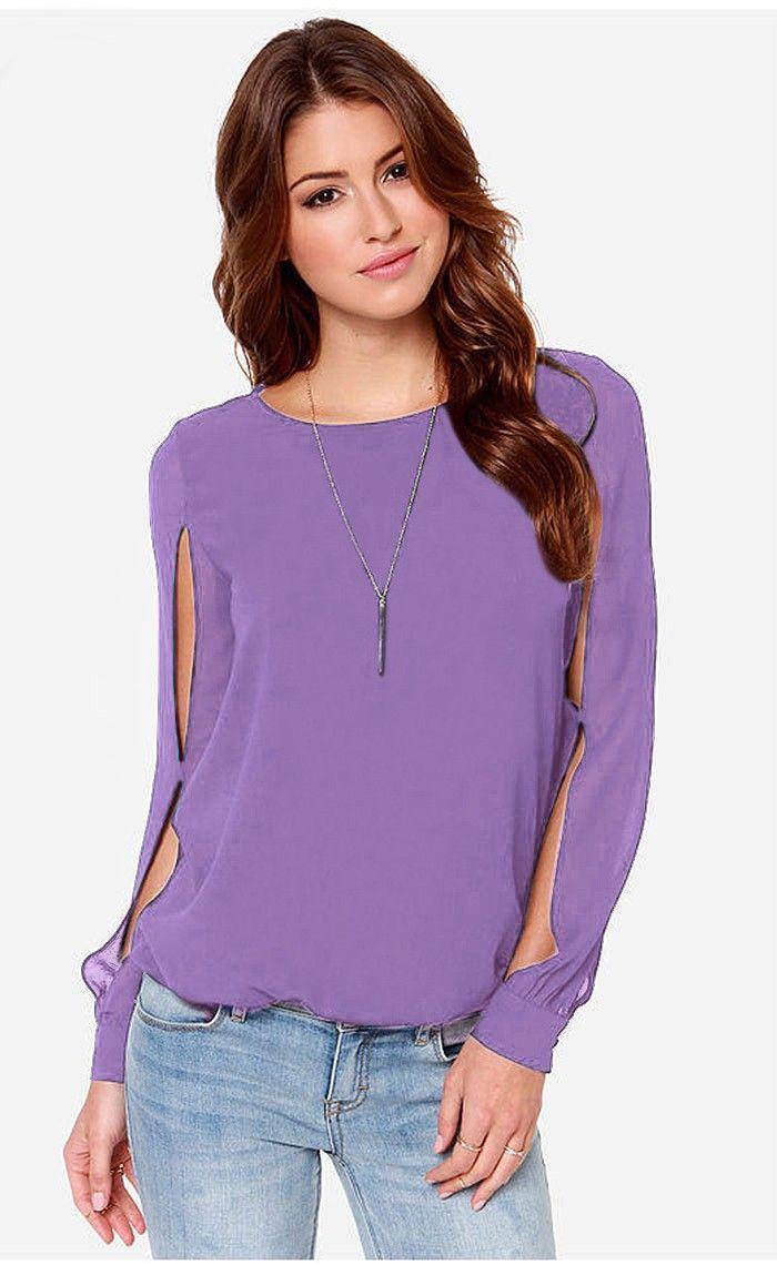 122 best TOPS images on Pinterest   Chiffon blouses, Chiffon shirt ...