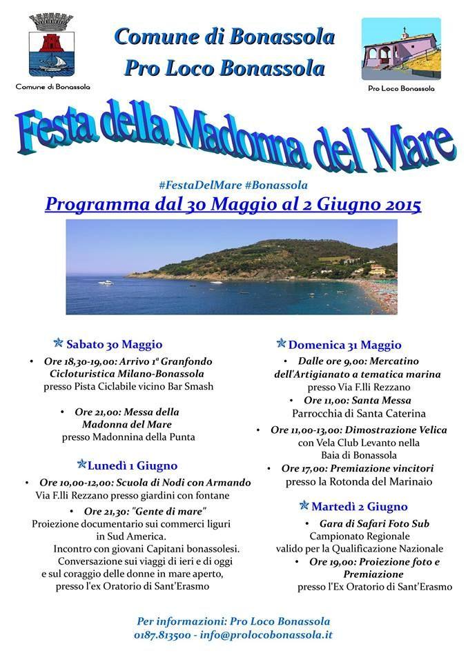 Bonassola e la Festa del mare...#events #bonassola