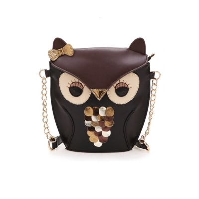 #persunmall Vintage Style Owl Bag [FPB342]- US$ 49.99 - PersunMall.com
