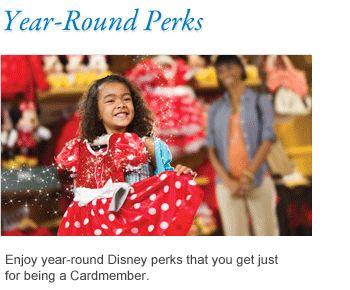 Disney Debit Card perks