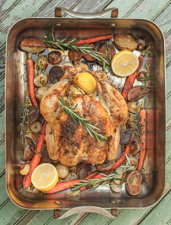 Roast Chicken with Vegetables | Southern Boy Dishes