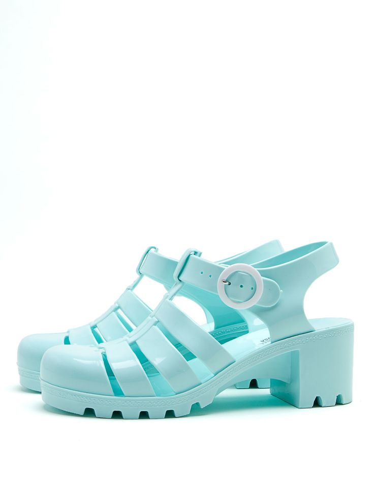 Jelly Season: The Woven Jelly Sandal.