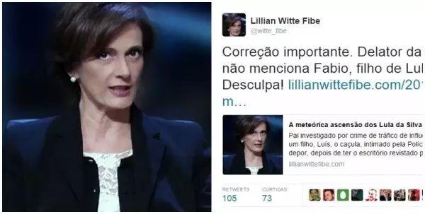 BLOG DO IRINEU MESSIAS: O pedido de 'desculpa' de Lilian Witte Fibe ao fil...