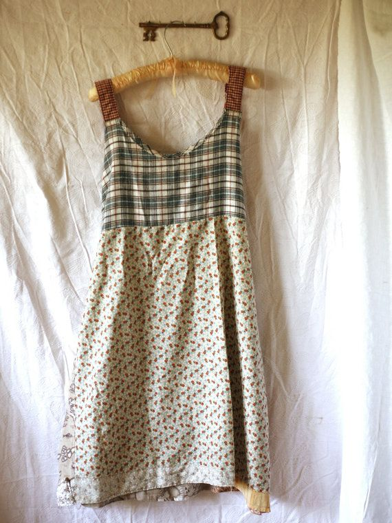 Upcycled Dress Women's Plus Size ClothingD by UnicycleAssembly