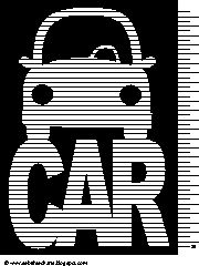 Car Savings or Payoff Chart - I just needed it to be cute.  I can do it now!