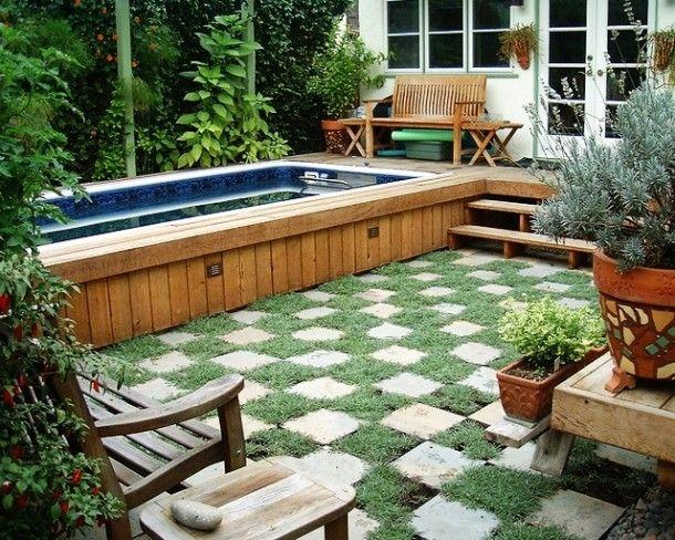 52 best images about pools design ideas on pinterest - Piscine hors sol tole ...