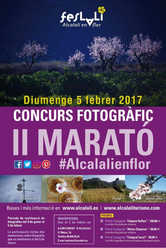 Concurso Fotográfico II Maratón #alcalalienflor para locos de la fotografía