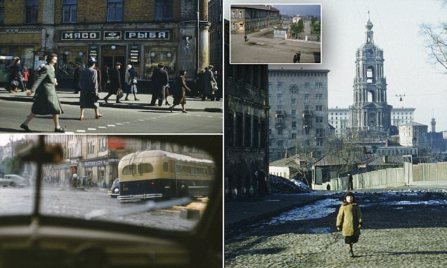 Spy's eye view of Russia: Never-seen-before photos of Stalin-era USSR