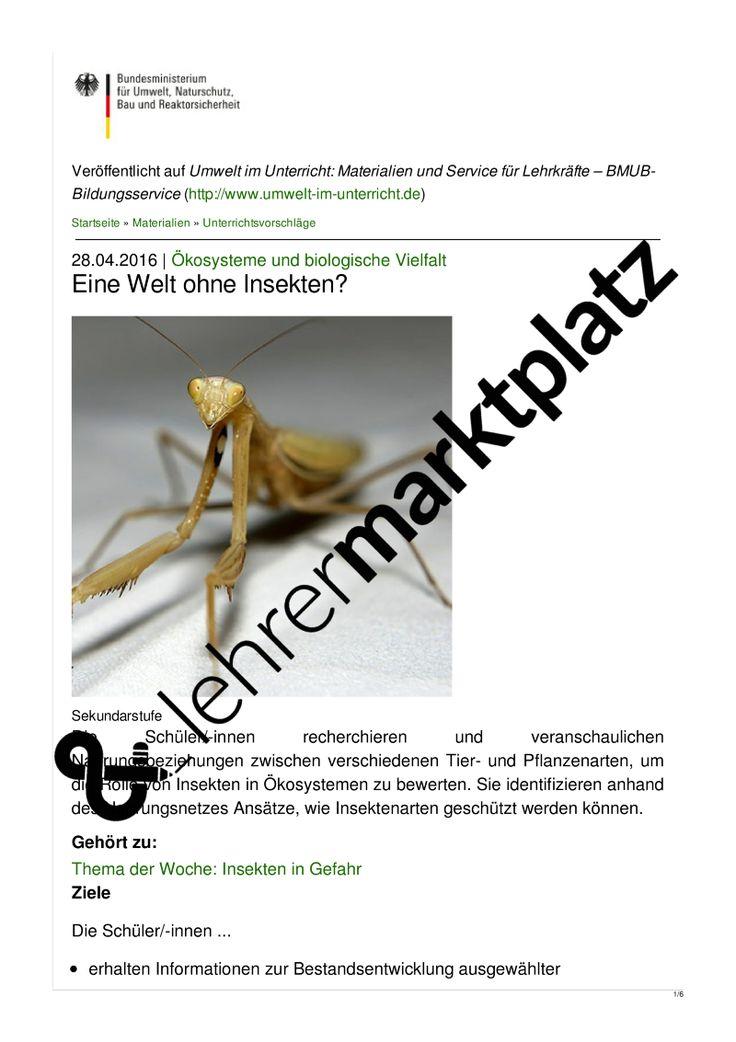 122 besten Biologie Unterrichtsmaterialien Bilder auf Pinterest