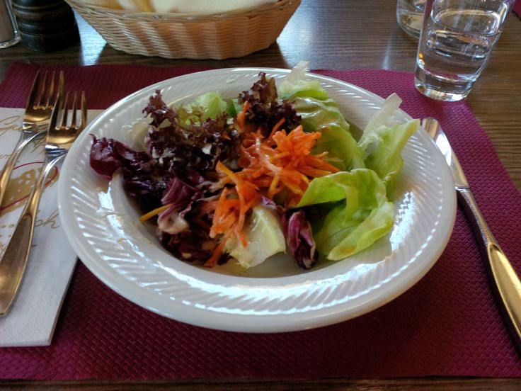 Salad @ Restaurant Belfort