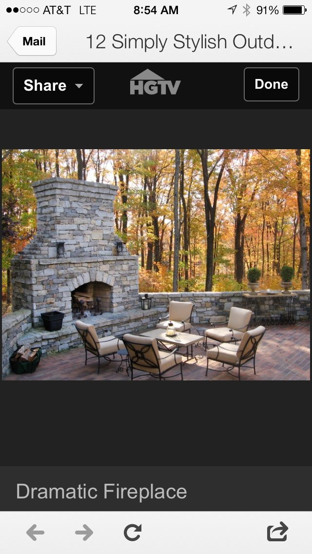 183 Best Images About Outdoor Fireplaces On Pinterest