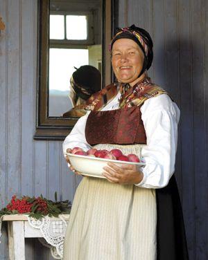 Kvinnebunad fra Orkla-dalføret - Magasinet Bunad