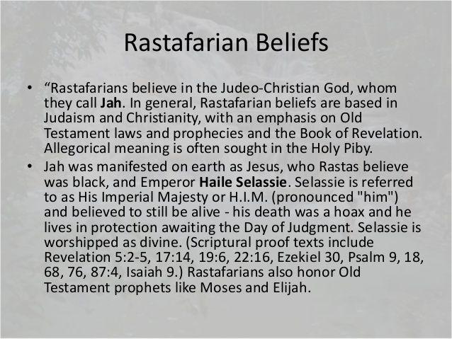 Rastafarian Beliefs