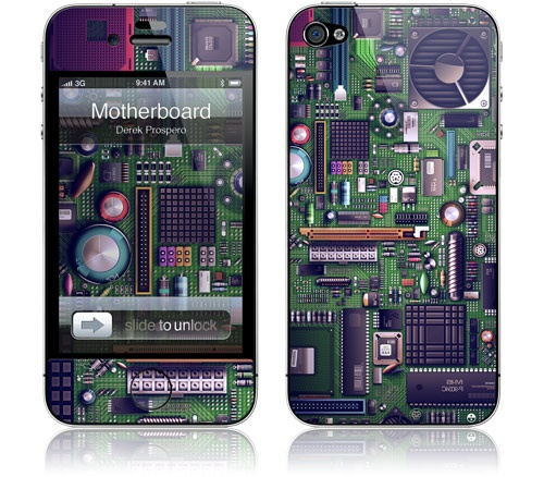 Won't it be cool to have a motherboard iPhone case? Geeky much?
