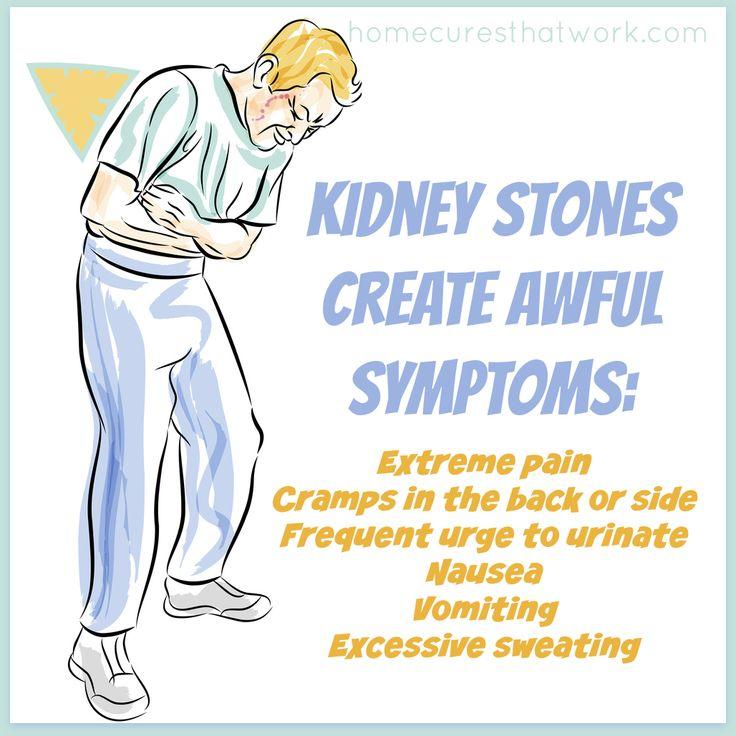 kidney stones create awful symptoms 2