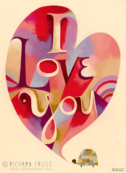 ©Richard Faust - 'I Love You' www.richardfaust.com