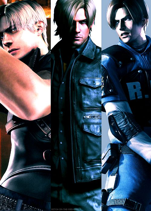 All-Time Favorite Video Game Character -- Leon S. Kennedy (Resident Evil) <3