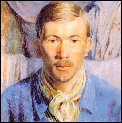 Gerald Brenan at Larrau (1922) by Dora Carrington (1893-1932)