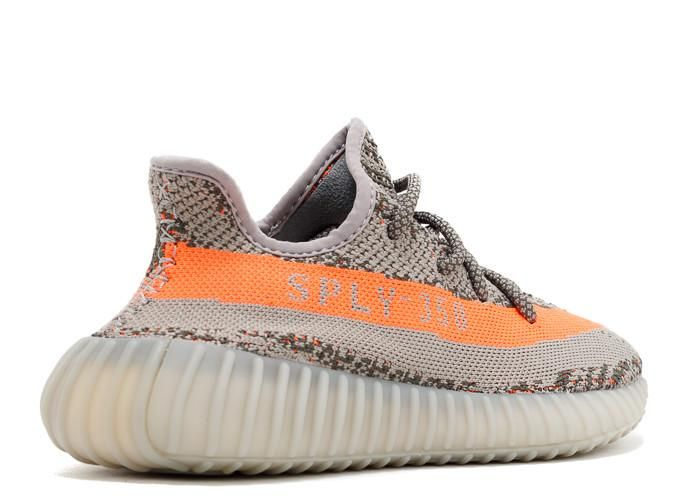 Cheap Yeezy Boost 350 V2 Beluga SPLY-350 Grey/Orange Sneakers on Sale,