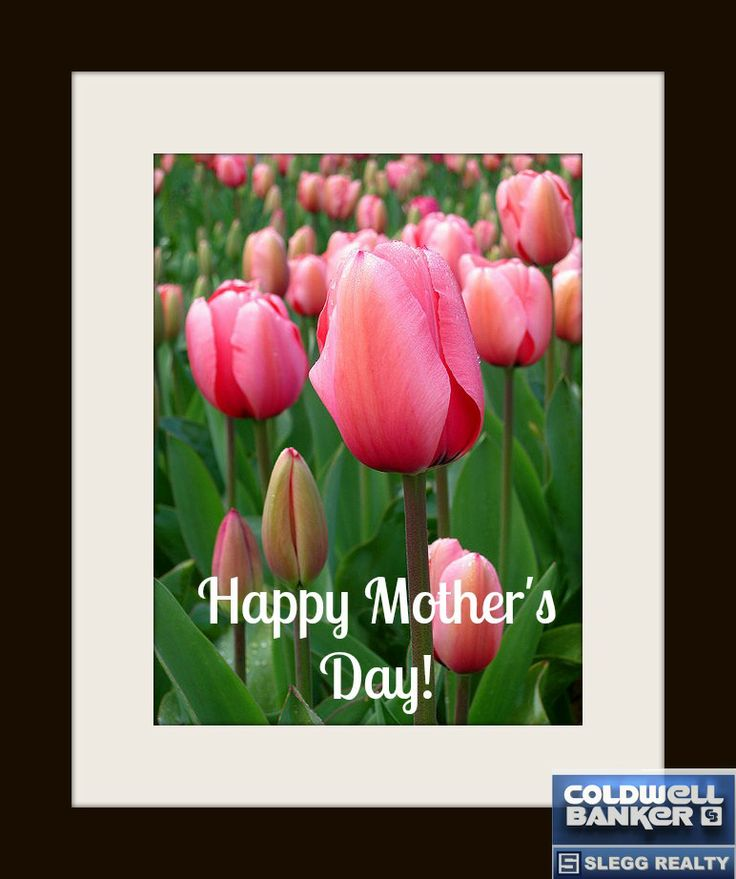 To all the wonderful mothers out there, Happy Mother's Day from us to you.