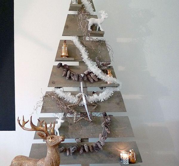 Leuke alternatieve kerstboom