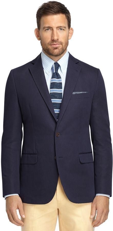 Navy Linen Sport Coat