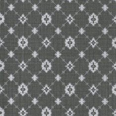 Фото №1: Обои черные с узором 3300055 Toison graphite – Ампир Декор