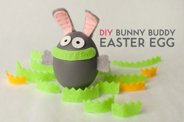 Create your own Bunny Buddy Egg to keep you company this Easter, using our simple and fun DIY Egg Decorating tutorial! Materials you will need: 1. Grey acrylic paint or grey Easter Egg Dye (We got...