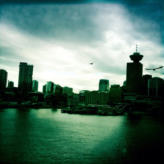 View of Vancouver from Canada Place.