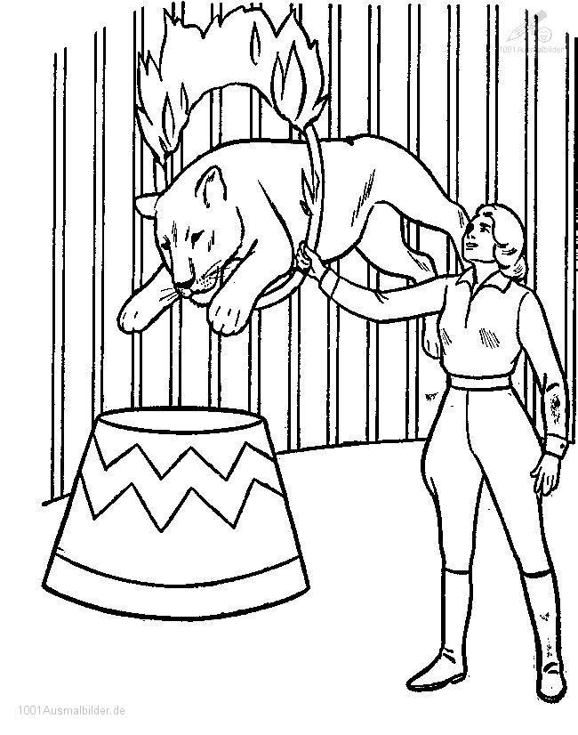 ausmalbilder zirkus | ausmalbilder | pinterest | kindergarten