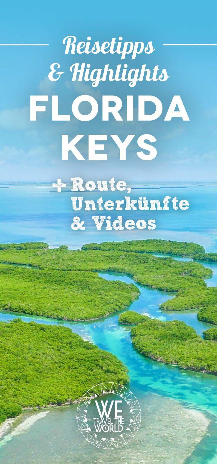USA Reise – die besten Florida Keys Tipps, Sehenswürdigkeiten und Highlights. Inklusive unserer Florida Keys Hotels und Videos zu unserem Trip
