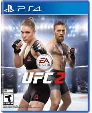 EA Sports UFC 2 - BRAND NEW & SEALED (Sony PlayStation 4 2016)