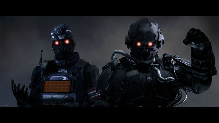 Killzone: Shadowfall / Helghast Armies by lemon100