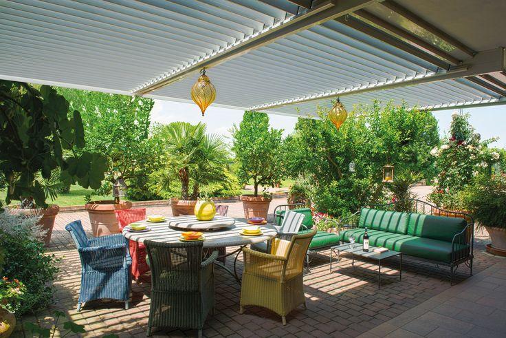 #FrigerioForma Gico Tende #flap #outliving #outdoor #living #home #madeinitaly #design #gazebo #outside #space #awnings #patios