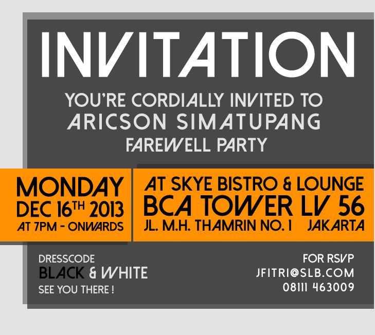 Invitation Design #Arfadia #GraphicDesign #InvitationDesign #DesainUndangan #DesignProduction #DesainGrafis
