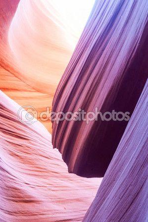 Нижний Каньон Антилопы страницы Аризона США — стоковое изображение #98446148